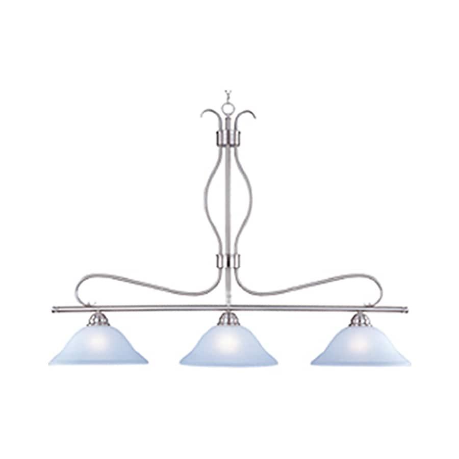 Pyramid Creations Basix 13-in Nickel Single Pendant