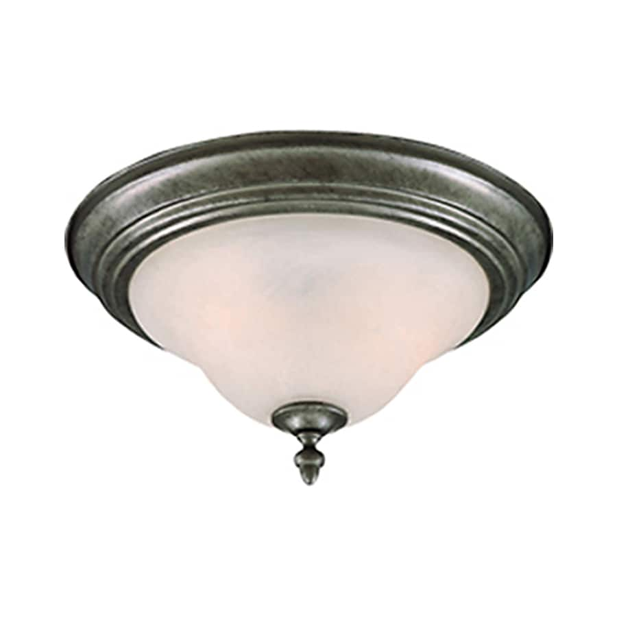 Pyramid Creations -Pack W Pewter Flush Mount Light