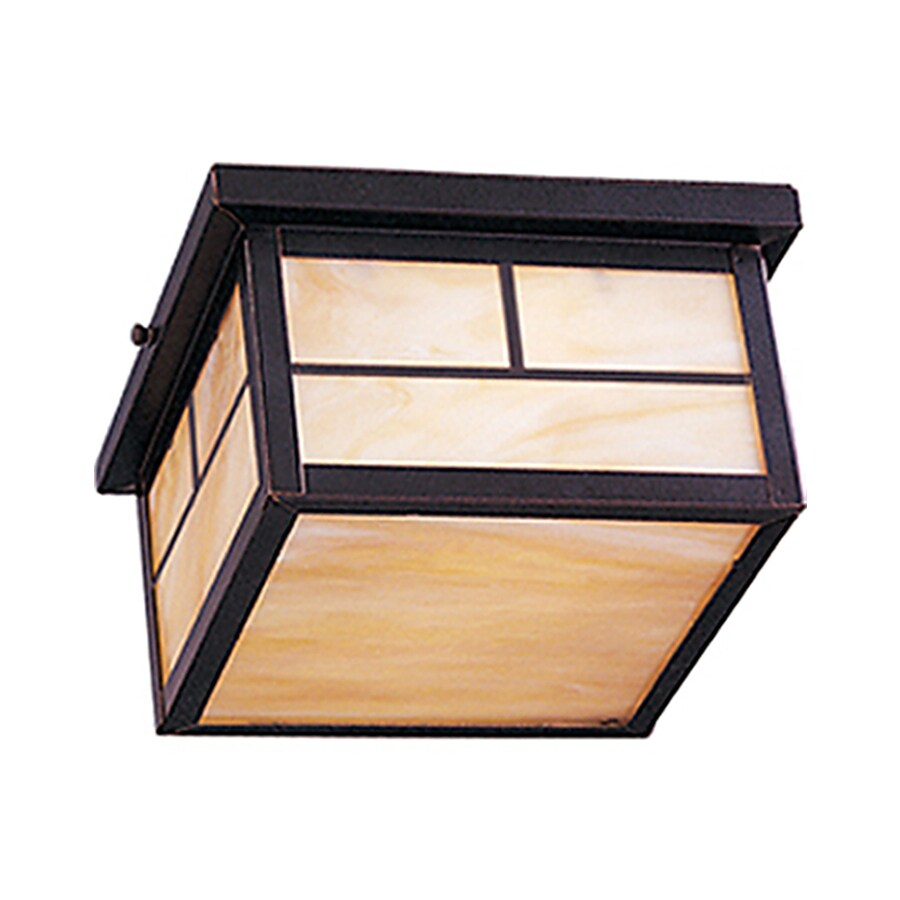 Pyramid Creations Coldwater 5-in H Burnished Outdoor Wall Light