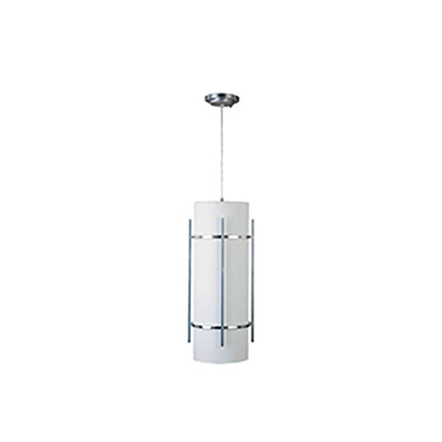 Shop Pyramid Creations Luna 22-in H Brushed Metal Outdoor Wall Light at Lowes.com