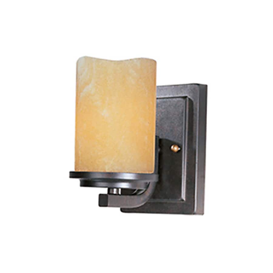 Pyramid Creations Luminous 5-in W 1-Light Arm Wall Sconce