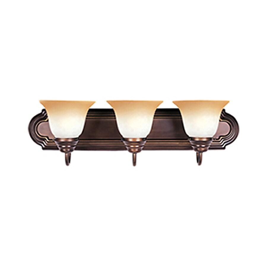 Pyramid Creations Essentialss 3-Light Oil-Rubbed Bronze Bell Vanity Light