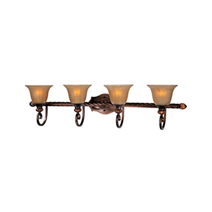 Pyramid Creations Dresden 4-Light 10-in Filbert Vanity Light