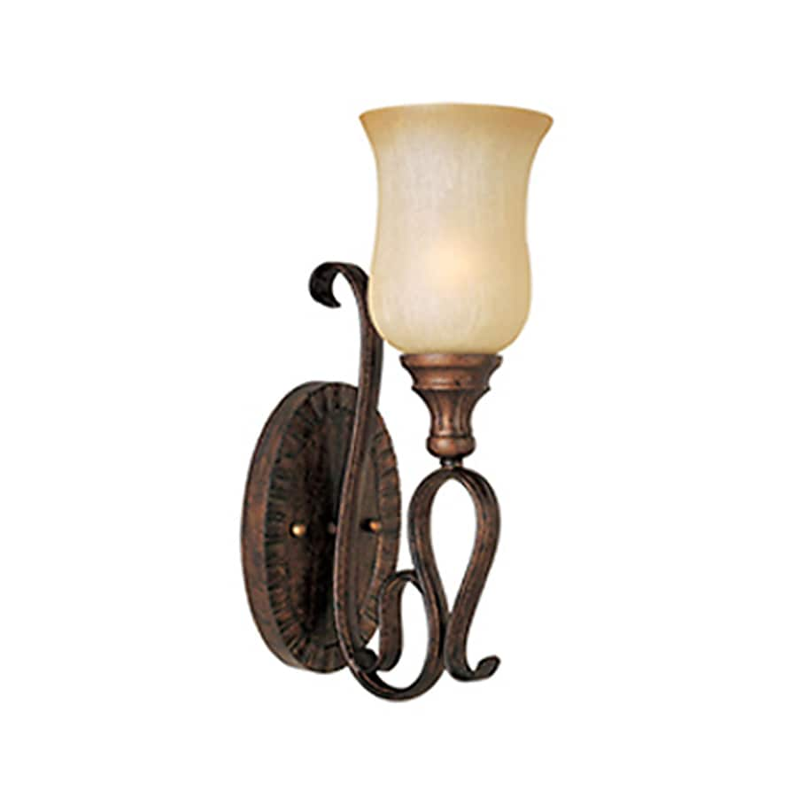 Pyramid Creations Sausalito 5-in W 1-Light Arm Wall Sconce