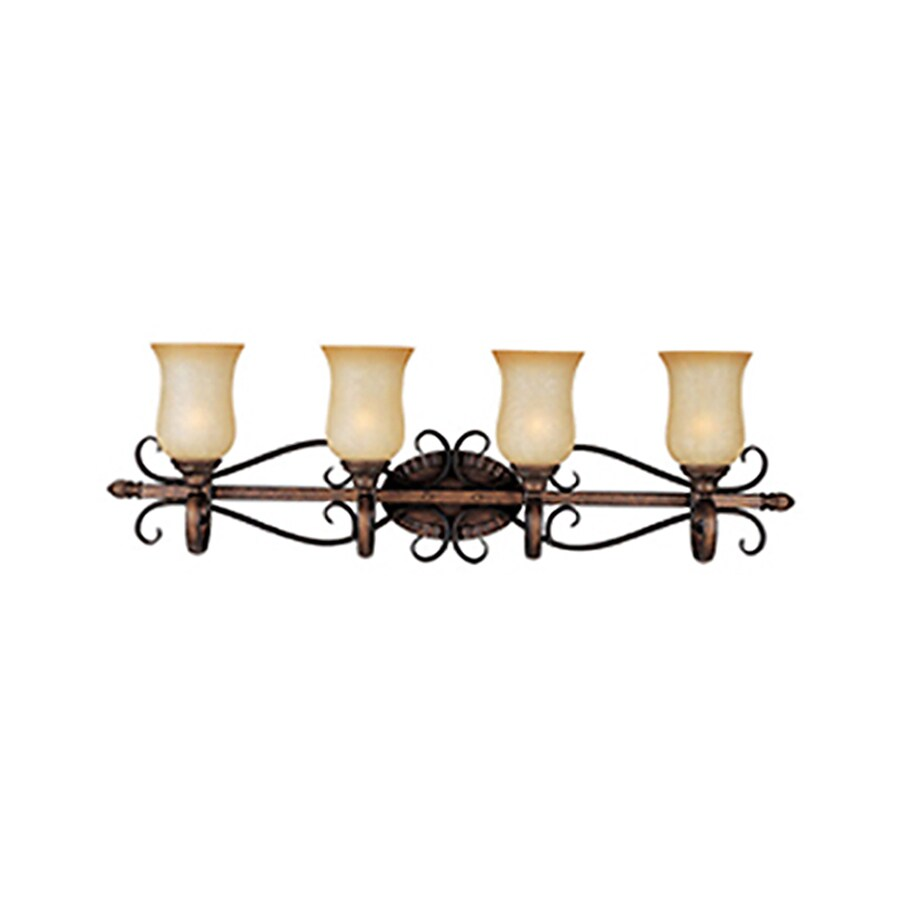 Pyramid Creations Sausalito 4-Light 12-in Filbert Urn Vanity Light