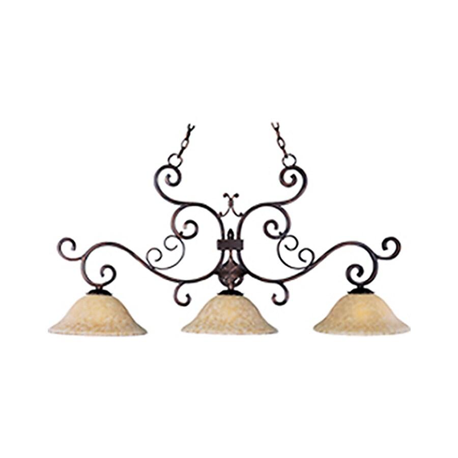 Pyramid Creations Verona 13-in Bronze Single Pendant