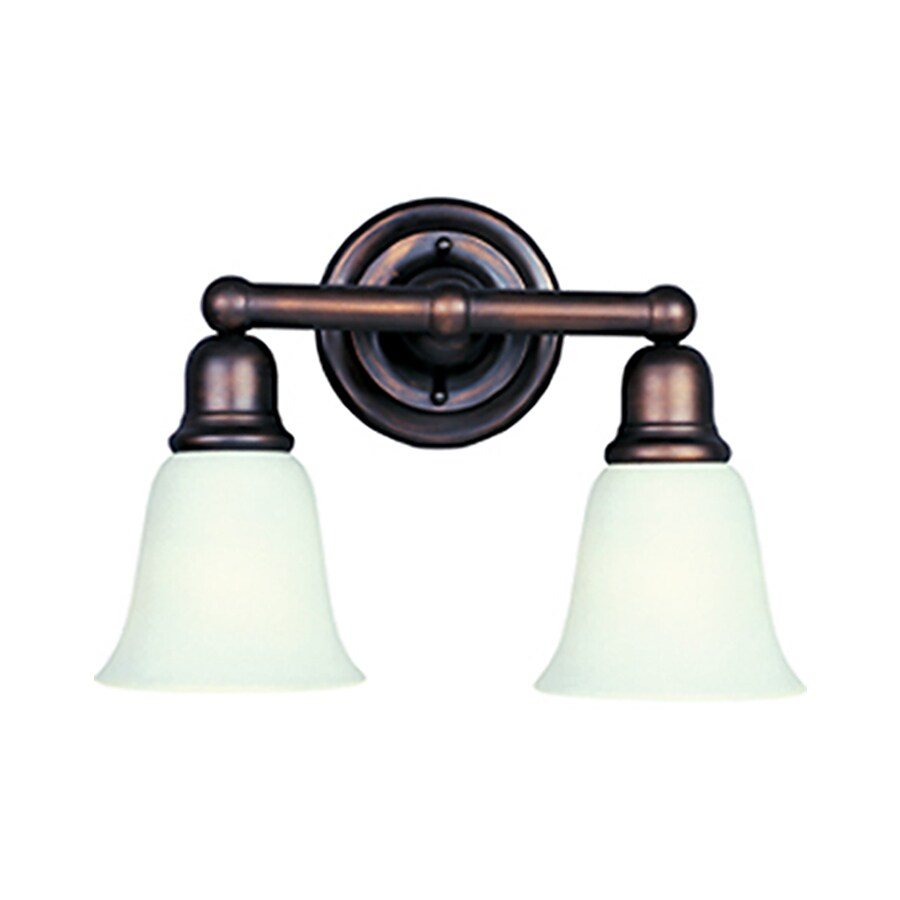 Pyramid Creations Bel Air 2-Light Oil-Rubbed Bronze Bell Vanity Light