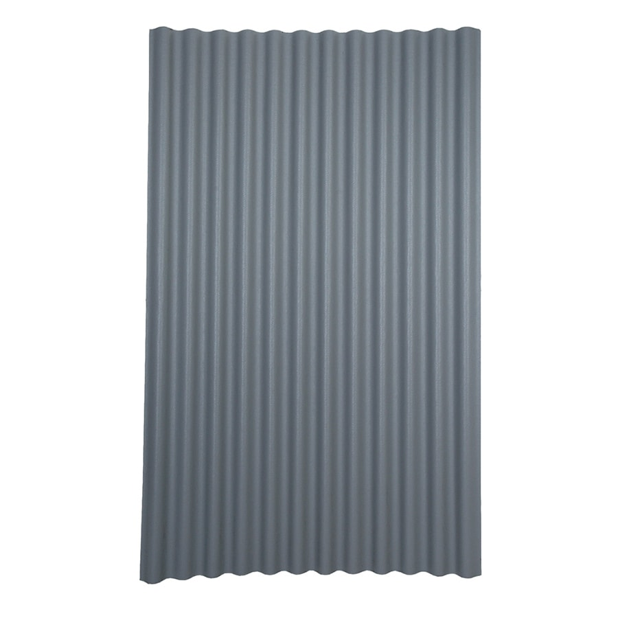 Ondura 4-ft x 6.58-ft Corrugated Asphalt Roof Panel at ...