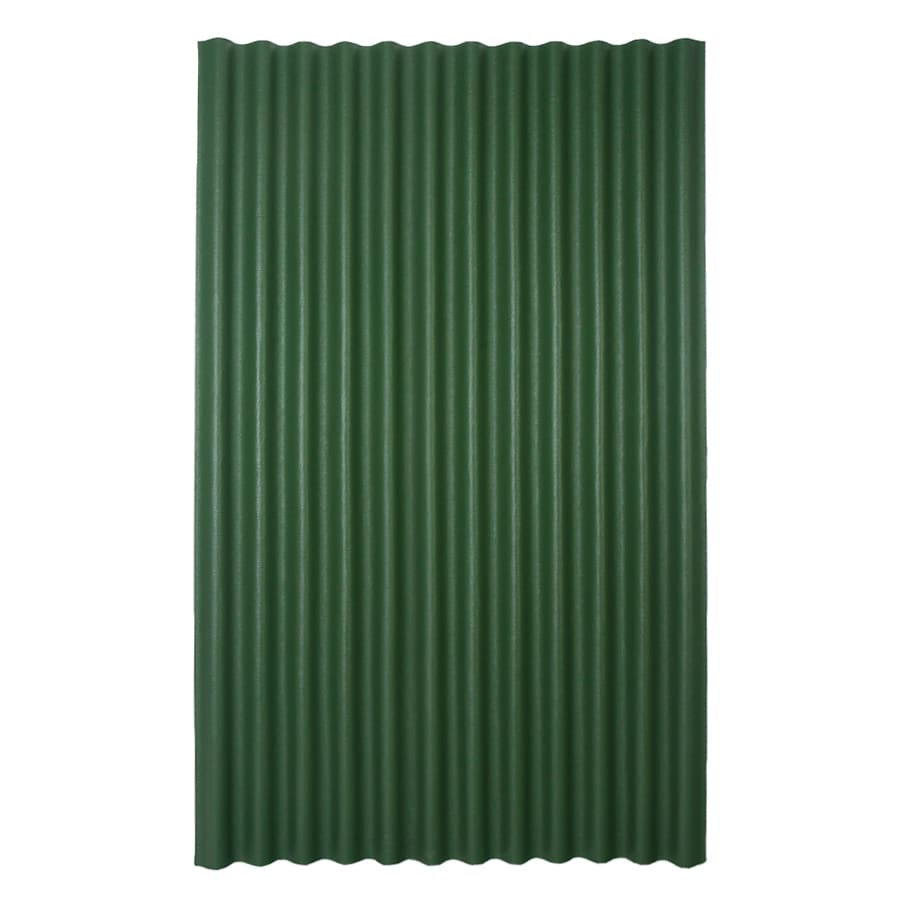 Ondura 4-ft x 6.58-ft Corrugated Cellulose Fiber/Asphalt Roof Panel