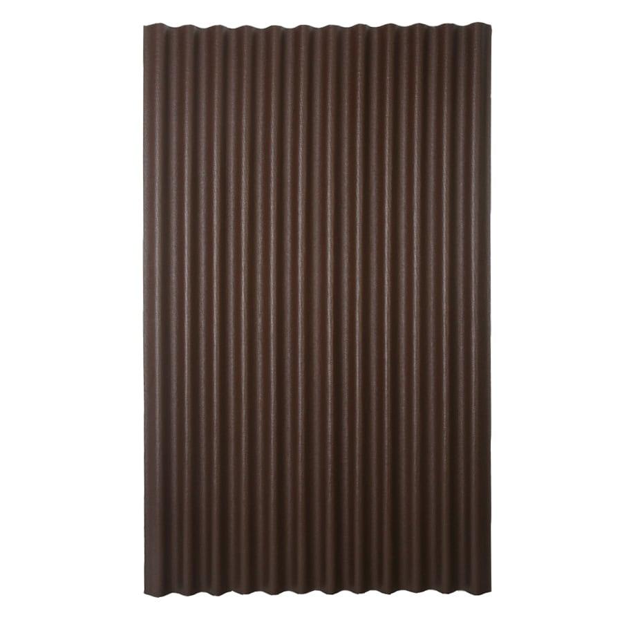 Delightful Ondura 4 Ft X 6.58 Ft Corrugated Asphalt Roof Panel