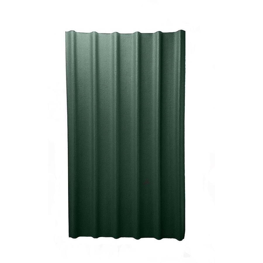 Ondura 6V 3.67-ft x 6.58-ft Ribbed Cellulose Fiber/Asphalt Roof Panel