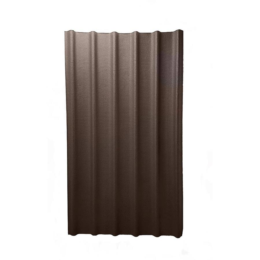 Ondura 6V 3.67-ft x 6.58-ft Ribbed Cellulose Fiber/Asphalt Roof Panel