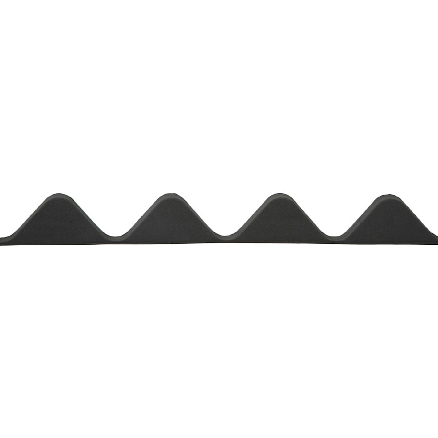 Ondura 4-Pack Cross Link Polyethylene Solid Roof Panel Closure Strip