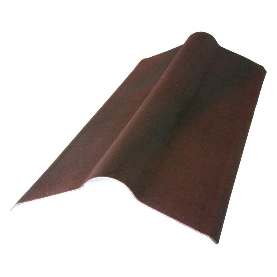 ONDUVILLA 35.5-in x 19.5-in Cellulose Fiber/Asphalt Roof Panel Ridge Caps
