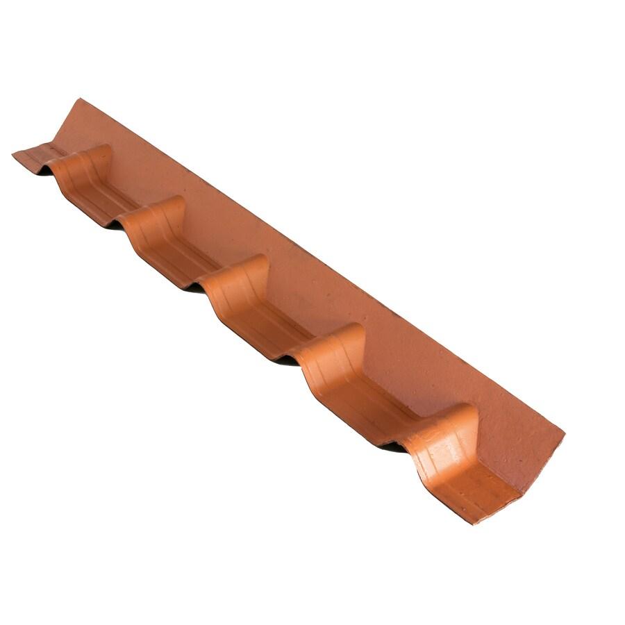 ONDUVILLA 40.5-in x 6-in Cellulose Fiber/Asphalt Roof Panel Ridge Caps