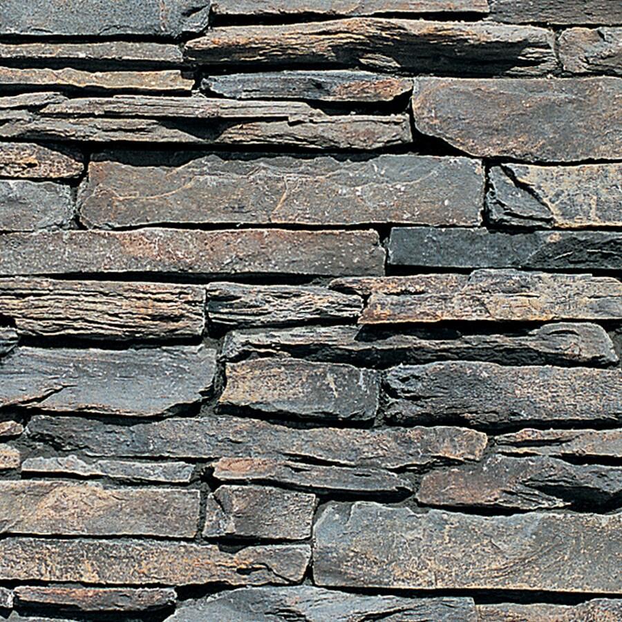Grey Stone Veneer : Shop coronado grey faux stone veneer at lowes
