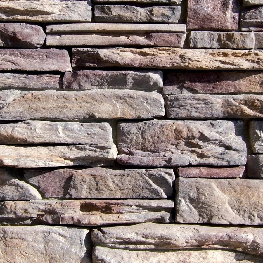 coronado stone products ledgestone 100sq ft grey quartzite faux stone veneer - Faux Stone Veneer