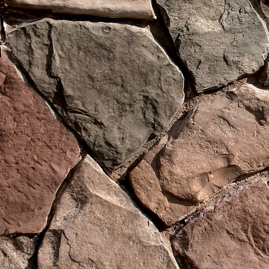 Coronado Stone Products Irregular Stone 12.5-sq ft Chablis Faux Stone Veneer