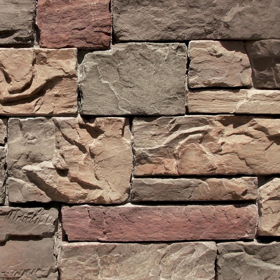 Coronado Stone Products Ledgestone 15-sq ft Chablis Faux Stone Veneer