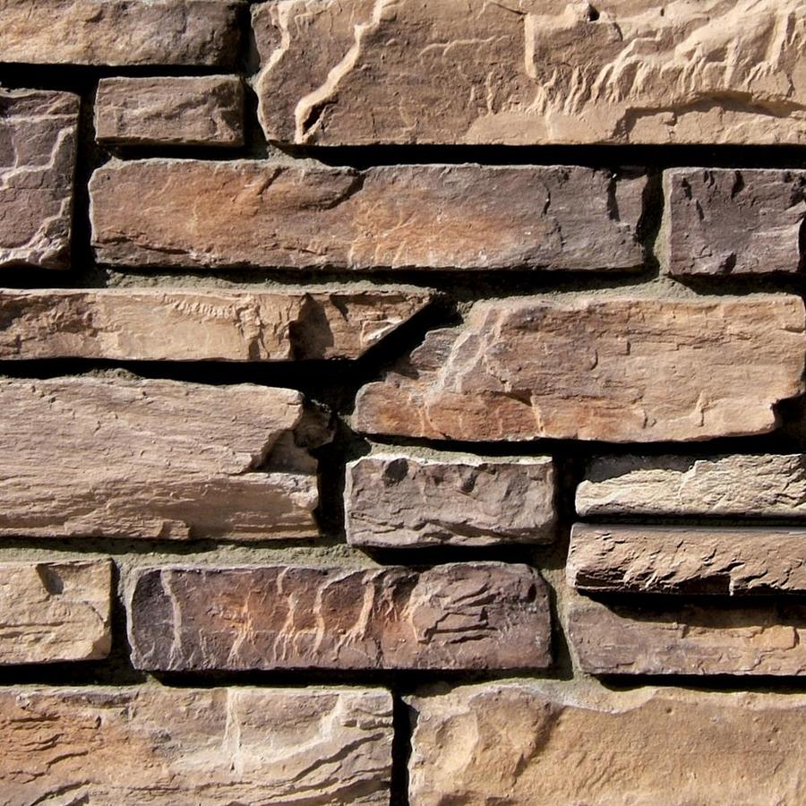 Coronado Stone Products Ledgestone 120-sq ft Brookside Faux Stone Veneer