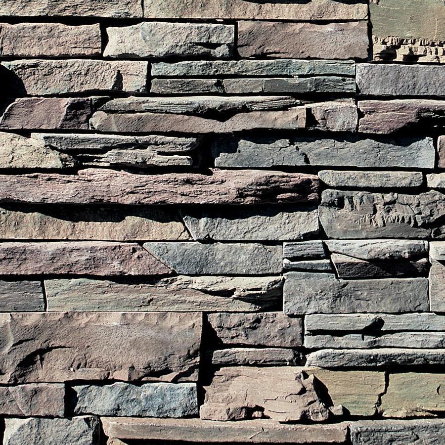 Coronado Stone Products Ledgestone 12.5-sq ft Aspen Faux Stone Veneer