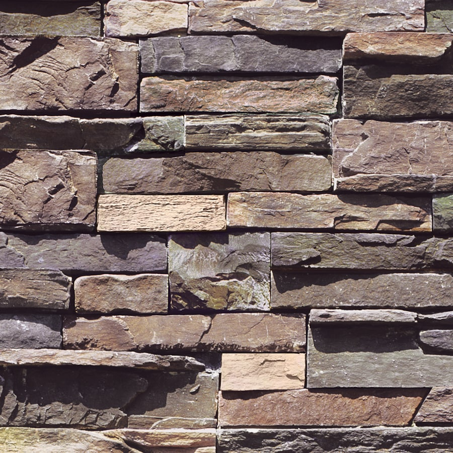 Shop Coronado Coastal Brown Faux Stone Veneer At