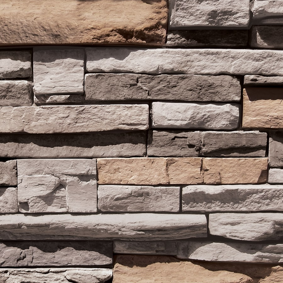 Shop Coronado Cape Cod Grey Faux Stone Veneer At Lowes Com
