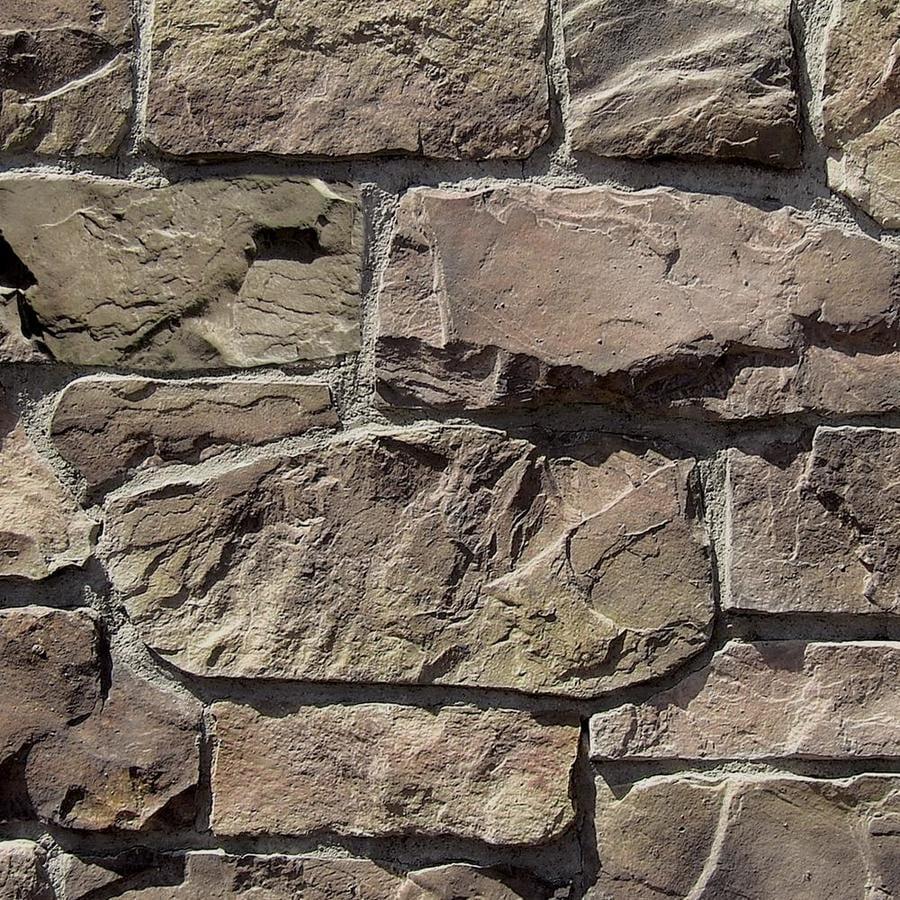 Coronado Stone Products Villa Stone 15-sq ft Prairie Moss Faux Stone Veneer