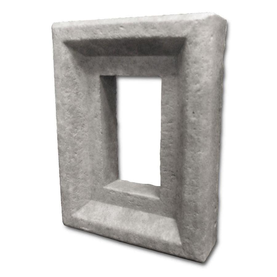 Coronado Stone Products Electrical Box Manufactured Stone Veneer Receptacle Covers