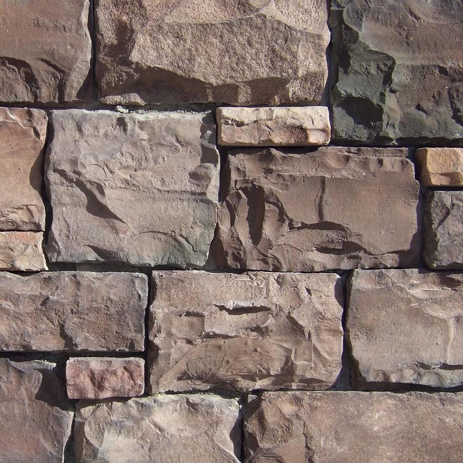 Coronado Stone Products Ashlar and Rubble Coastal Brown Outside Corner Stone Veneer Trim