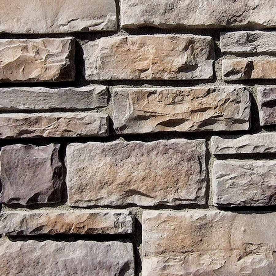 Coronado Stone Products Ashlar and Rubble 110-sq ft Grey Quartzite Faux Stone Veneer