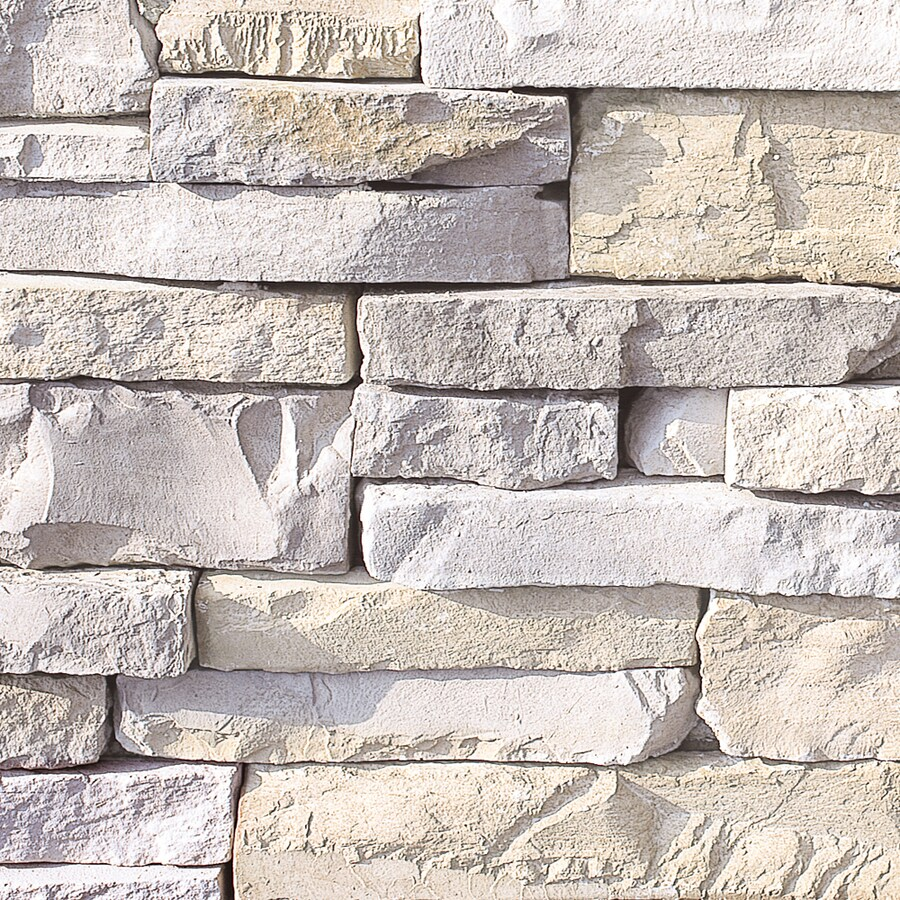 shop coronado smokey grey stone veneer at lowes com