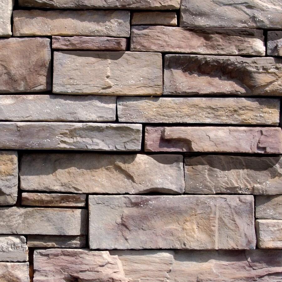 Grey Stone Veneer : Shop coronado grey quartzite stone veneer at lowes