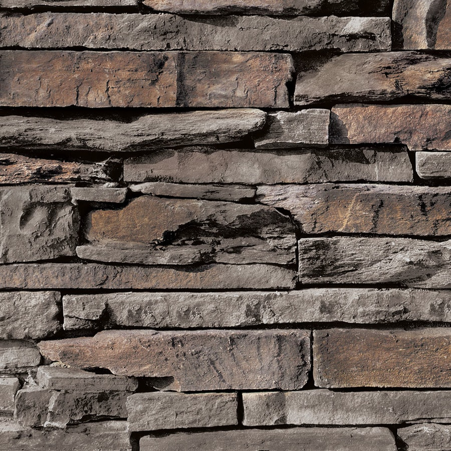 Coronado Stone Products Ledgestone 12.5-sq ft Palmetto Blend Faux Stone Veneer
