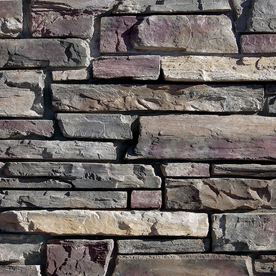 Coronado Stone Products Ledgestone 120-sq ft Grey Quartzite Manufactured Stone Veneer
