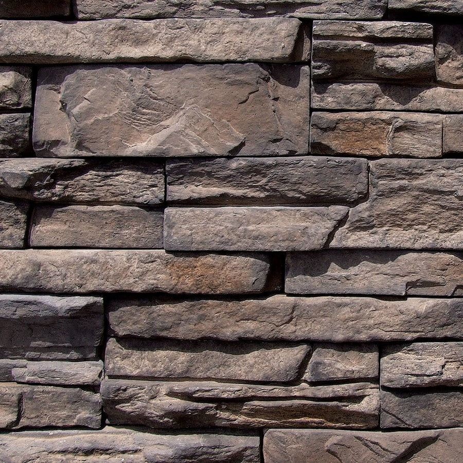 Shop coronado stone products ledgestone 100 sq ft for Manufactured veneer stone