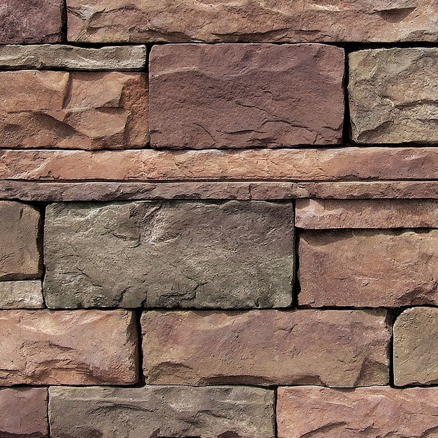 Stone Veneer Products : Shop coronado stone products ledgestone sq ft chablis