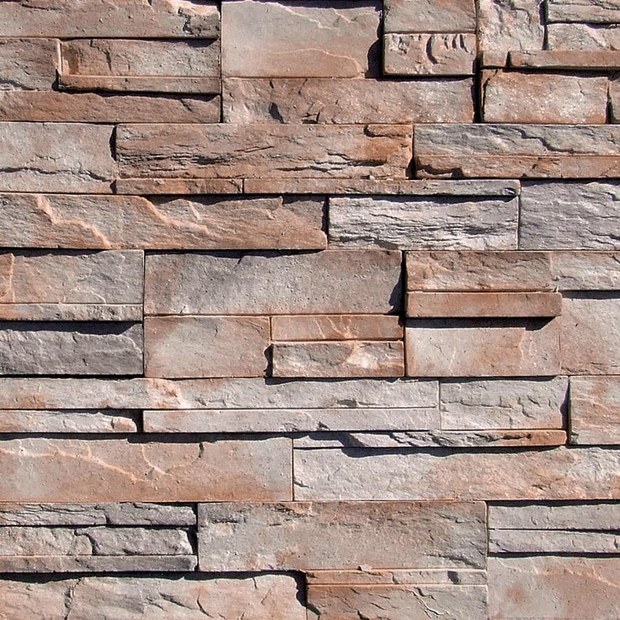 Coronado Stone Products Ledgestone 15-sq ft Shasta Faux Stone Veneer