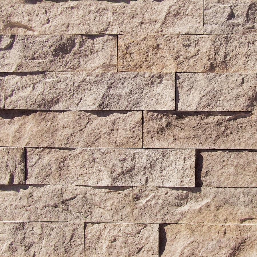 coronado stone products designer 120sq ft genoa sands faux stone veneer - Faux Stone Veneer