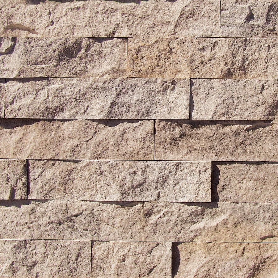 Coronado Stone Products Designer 12.5-sq ft Genoa Sands Faux Stone Veneer