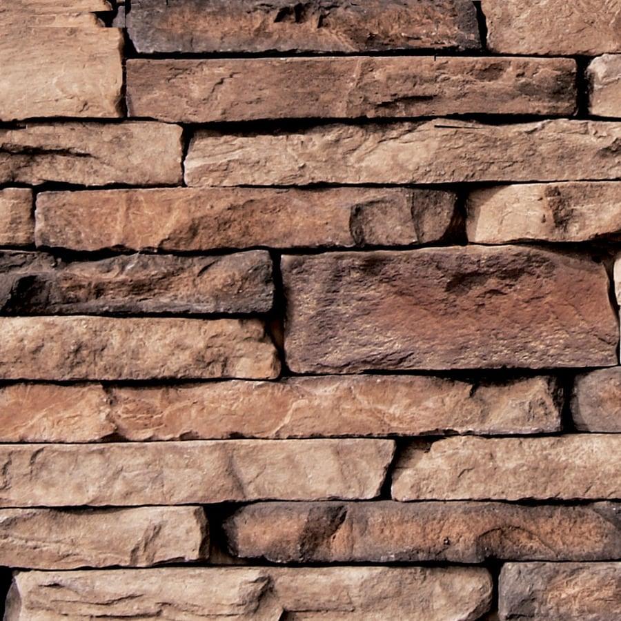 Coronado Stone Products Ledgestone 12.5-sq ft Brookside Faux Stone Veneer
