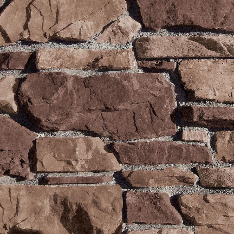Coronado Stone Products Villa Stone 105-sq ft Tobacco Faux Stone Veneer
