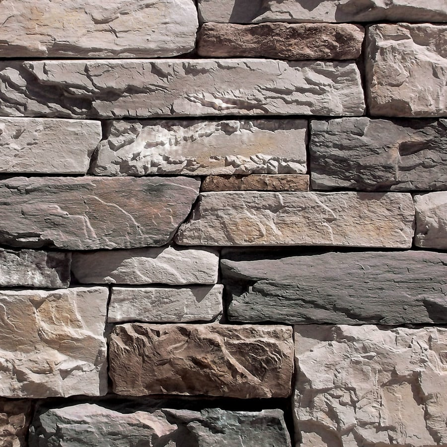 Coronado Stone Products Ledgestone 120-sq ft Huron Faux Stone Veneer