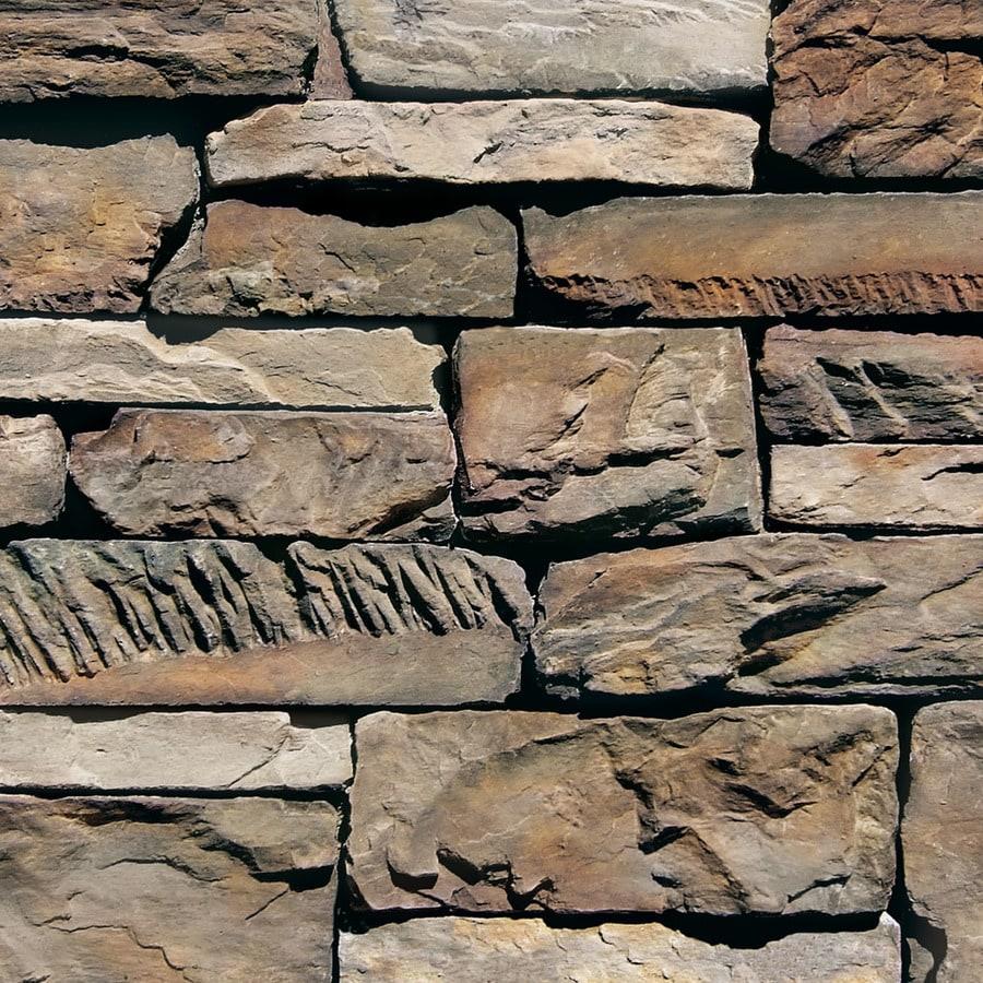 coronado stone products ledgestone 120sq ft etowah faux stone veneer - Faux Stone Veneer