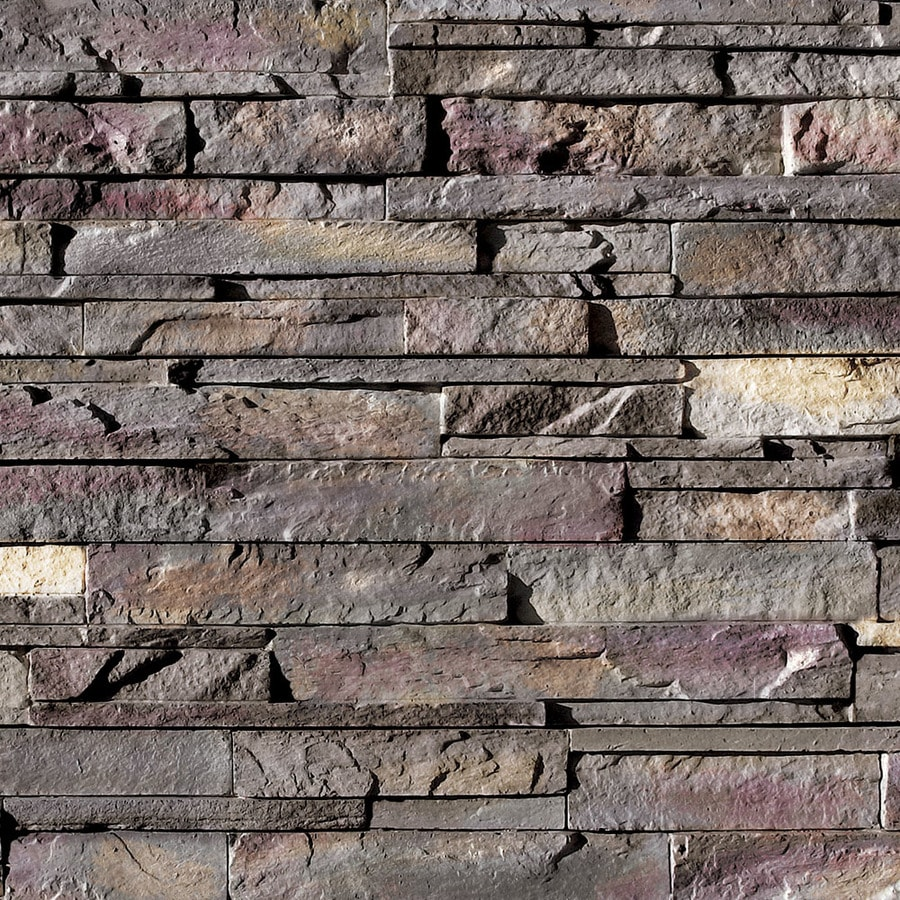 Coronado Stone Products Ledgestone 15-sq ft Grey Quartzite Faux Stone Veneer