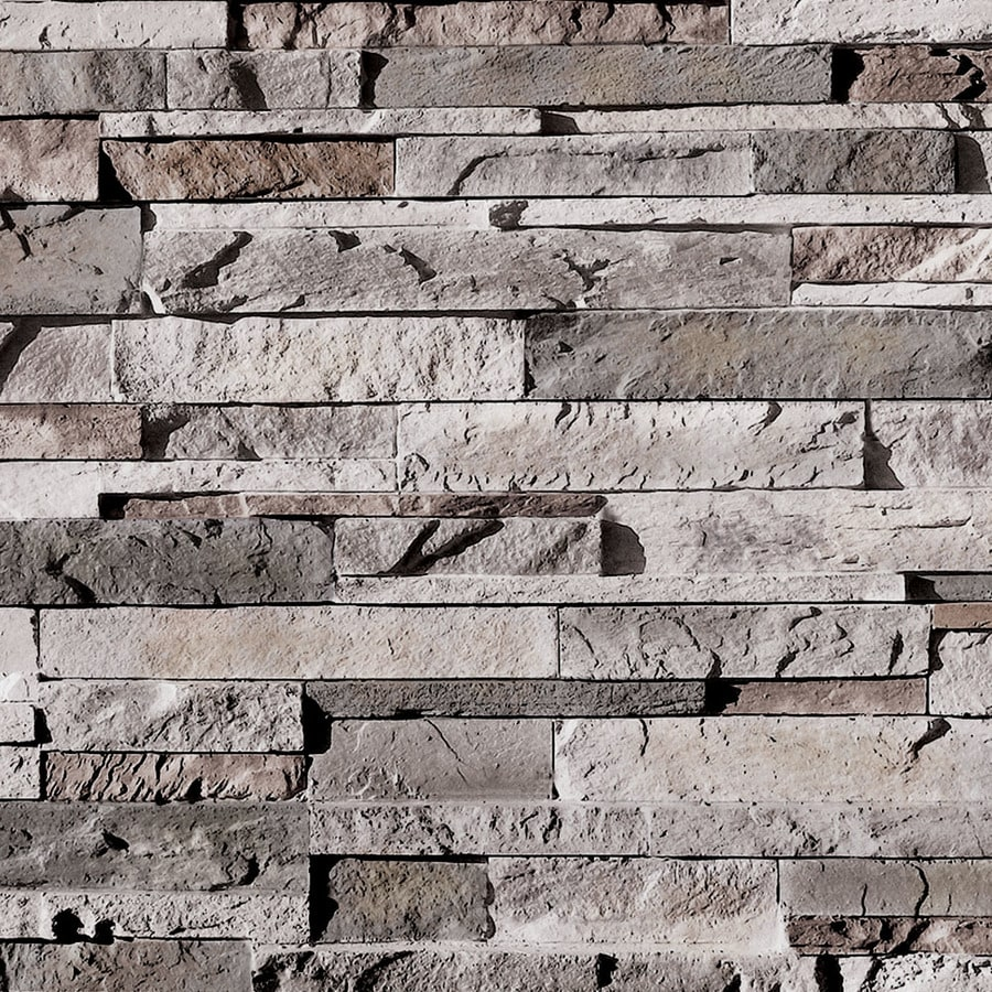 Shop coronado stone products ledgestone 15 sq ft huron for Manufactured veneer stone