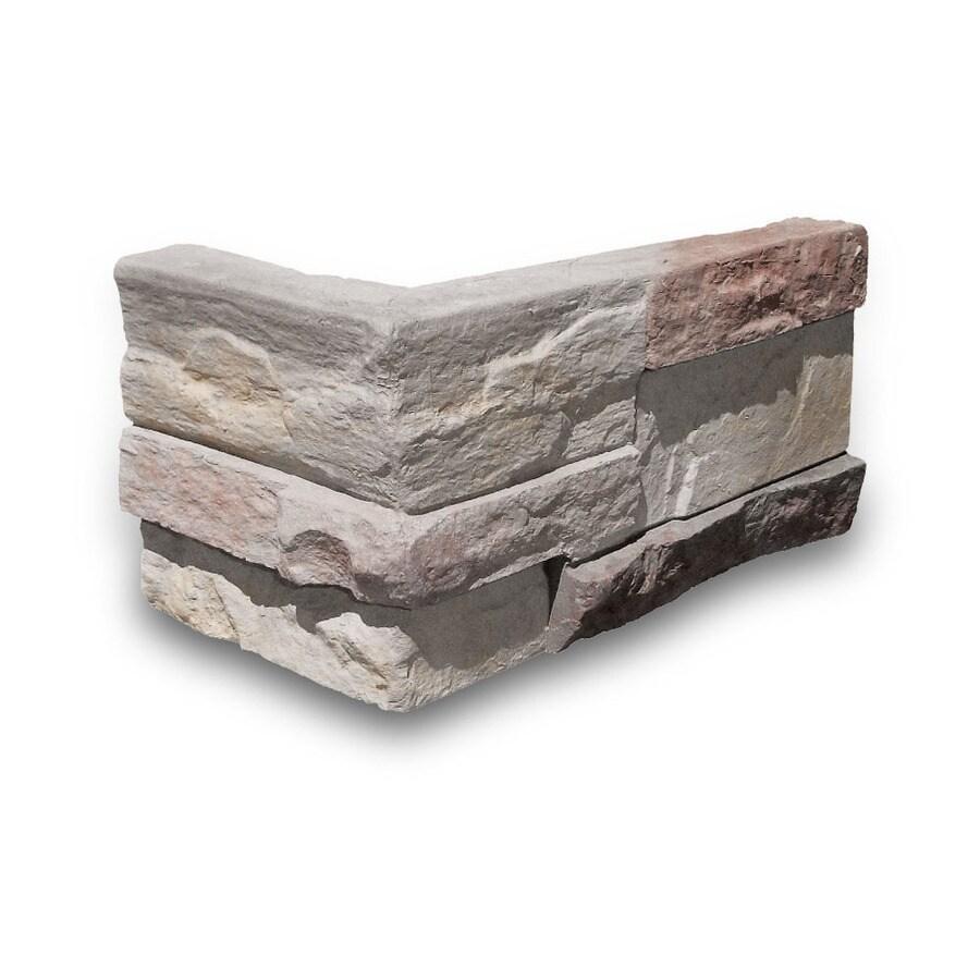 Coronado Stone Products Ledgestone Huron Outside Corner Stone Veneer Trim