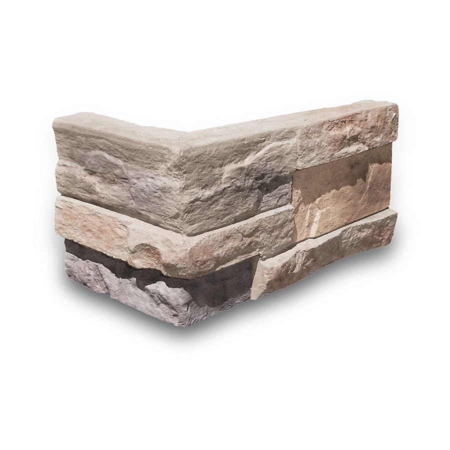 Coronado Stone Products Ledgestone Oakbrook Outside Corner Stone Veneer Trim