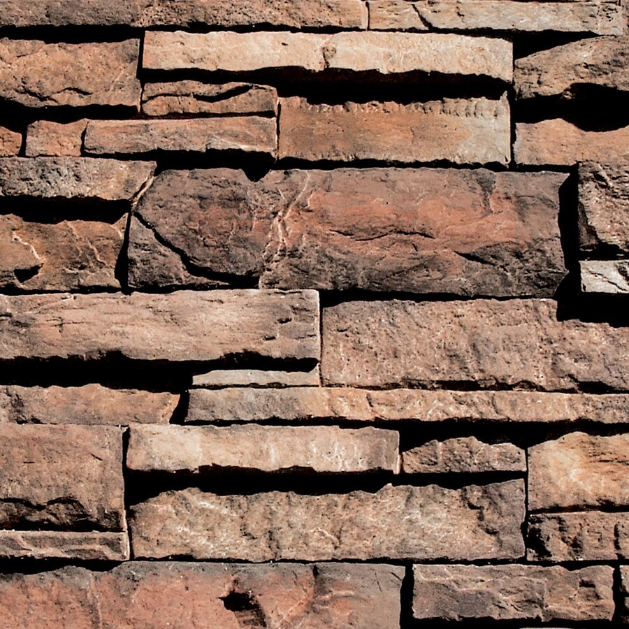 Coronado Stone Products Ledgestone 100-sq ft Brookside Faux Stone Veneer
