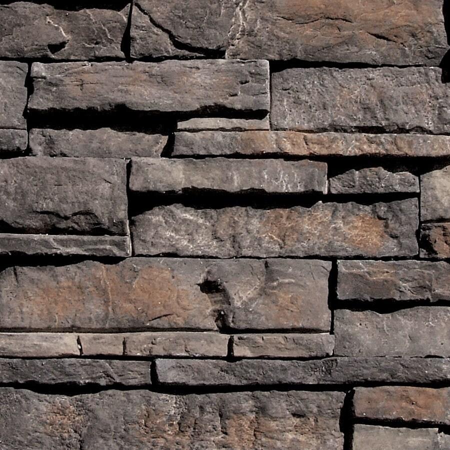 Coronado Stone Products Ledgestone 100-sq ft Cathedral Grey Faux Stone Veneer